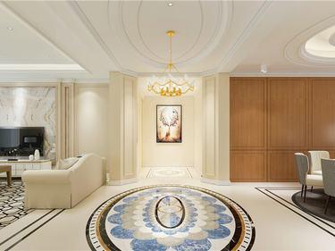 300平橡逸湾简美风格-拾光中的斑斓-橡逸湾小区300平米5室简美装修案例