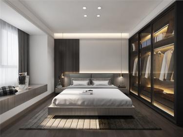180平独墅湾新中式风格-幽之境-独墅湾小区180平米别墅新中式装修案例