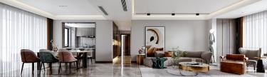 140平4室欧式餐厅