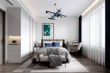 140平4室欧式卧室
