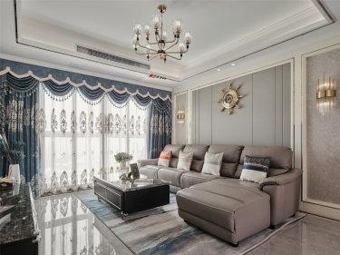 132平4室欧式客厅