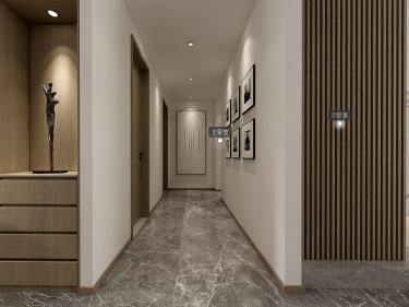 165平金鸡湖花园现代风格-让纯粹至简的设计-金鸡湖花园小区165平米3室现代装修案例