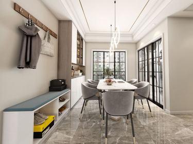 135平龙游御境现代风格-一家三口的温馨小屋-龙游御境小区135平米3室现代装修案例