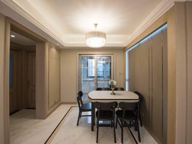117平湖悦澜庭现代风格-【阅湖·逐光】-湖悦澜庭小区117平米3室现代装修案例