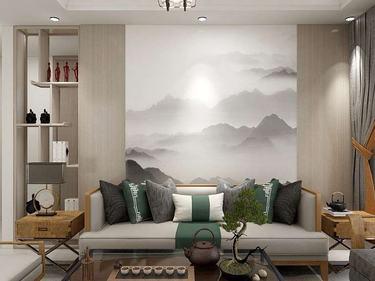 120平中港城新中式风格