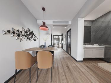 60平白马寺街31号院现代风格-白马寺街31号院小区60平米2室现代装修案例