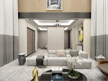 680平横沙岛自建别墅现代风格
