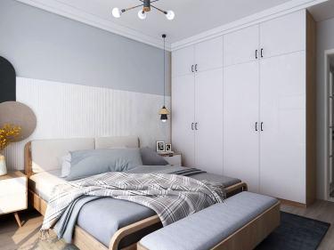 120平瑞馬名門北歐風格-清新北歐三室 灰木色INS感居家