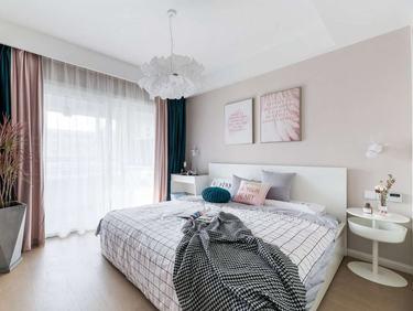 128平保利罗兰春天现代风格-雅致生活-保利罗兰春天小区128平米5室现代装修案例