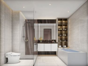 590平清水苑现代风格-别墅大宅,引领家居设计新风尚
