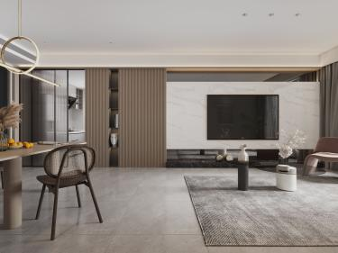 87平香城世家现代风格