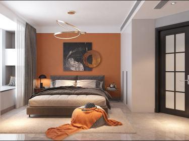 137平昌建翡翠苑现代风格-昌建.翡翠苑小区137平米4室现代装修案例