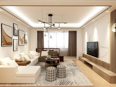 138平东方润园日式风格-东方润园小区138平米4室日式装修案例