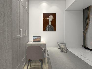 80平华发广场北欧风格-华发广场小区80平米3室北欧装修案例