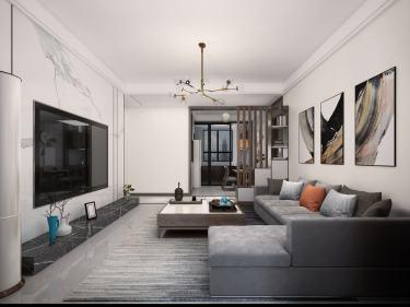142平河东故事现代风格-简约而又朴素,隐藏的贵族气质-河东故事小区142平米3室现代装修案例