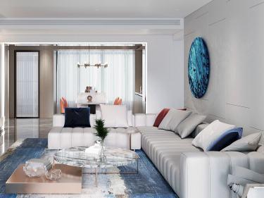 160平天安高尔夫现代风格-从北到南,与一座城结缘不解-天安高尔夫小区160平米4室现代装修案例