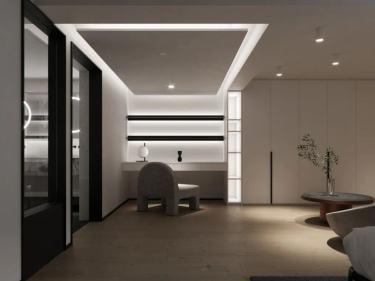 300平鼎太风华现代风格-鼎太风华小区300平米跃层/复式现代装修案例