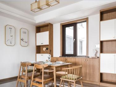 140平金虹105大院新中式风格-木色生活-金虹·105大院小区140平米4室新中式装修案例
