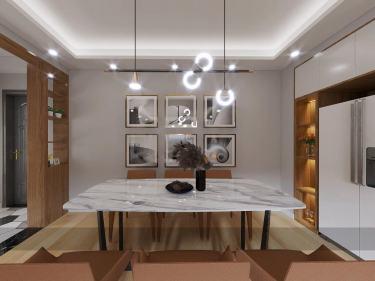 88平龙西新寓现代风格-三口品质之家