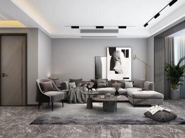 91平金域蓝湾现代风格-随性自由的婚房