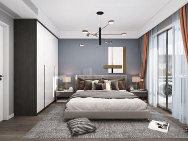 75平伟星城现代风格-伟星城小区75平米2室现代装修案例
