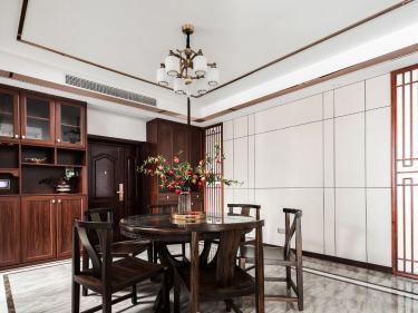 140平金虹105大院中式风格-品古典风骨,享悠然人生-金虹·105大院小区140平米3室中式装修案例