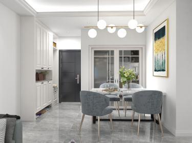 84平香瀾坊簡歐風格-簡歐別具風格的家居環境