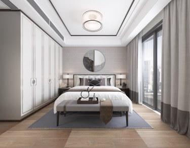 135平3室新中式卧室