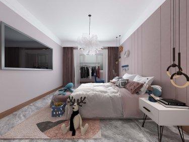 280平跃层/复式中式卧室