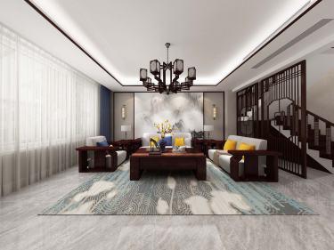 280平文景城中式风格