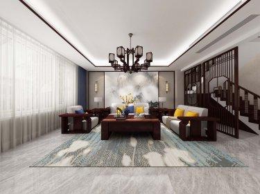 280平跃层/复式中式客厅