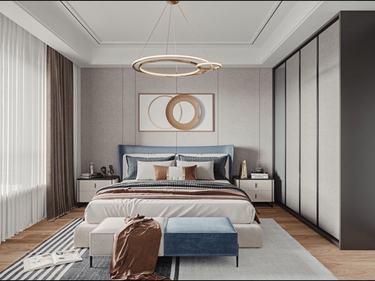 150平凤凰美地现代风格-美致空间