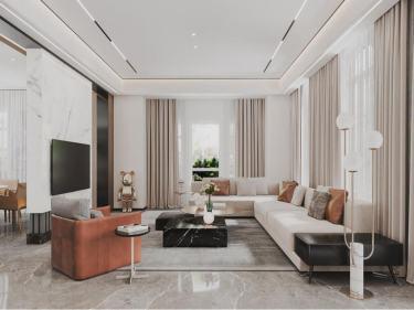 600平绿城玫瑰园现代风格
