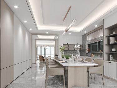 180平4室现代餐厅