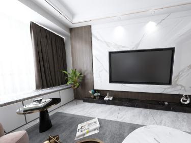 116平水景豪宅现代风格