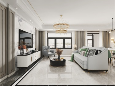 160平苏和雅集简美风格-一家子的幸福地带-苏和雅集小区160平米跃层/复式简美装修案例