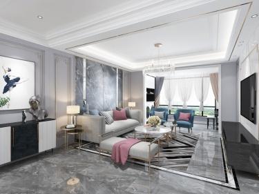 125平府東新區歐式風格-輕奢,現代人的生活方式