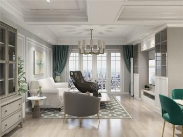 150平中天湖畔美式风格-中天湖畔小区150平米3室美式帮朋友开户证券有危害案例