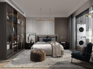 60平2室日式卧室