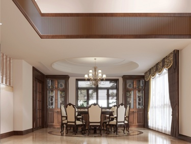 500平中大易墅美式风格-纯美之家