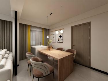 114平普禧观澜北欧风格-普禧观澜小区114平米2室北欧装修案例