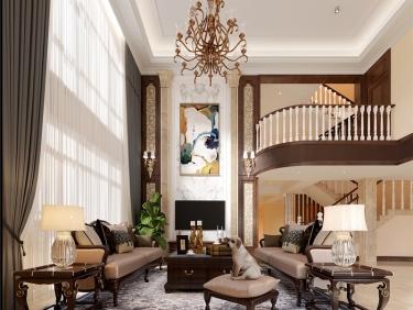 500平中大易墅美式风格-纯美之家-中大易墅小区500平米别墅美式帮朋友开户证券有危害案例