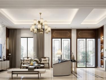 450平沁水朗庭新中式风格