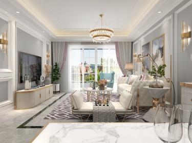 104平香缇时光简美风格-理想的家
