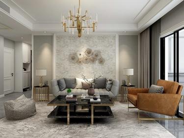 140平泰元家园美式风格-泰元家园小区140平米4室美式帮朋友开户证券有危害案例