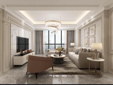 143平龙湖时代天街简欧风格-清新高贵   难以表达的美感