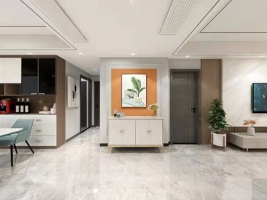 140平绿城玫瑰园现代风格-以爱筑造有温情、有童趣的暖意之家!