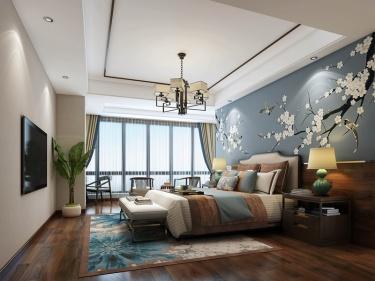 420平山河佳苑新中式风格-对称大美,见风华!