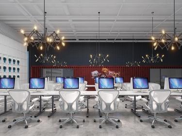 300平霄云中心办公室现代风格