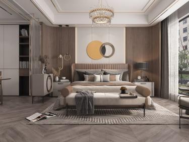 350平郁府自建民居新中式风格